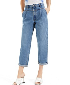 INC Yoke-Front Tapered Jeans, Created for Macy's