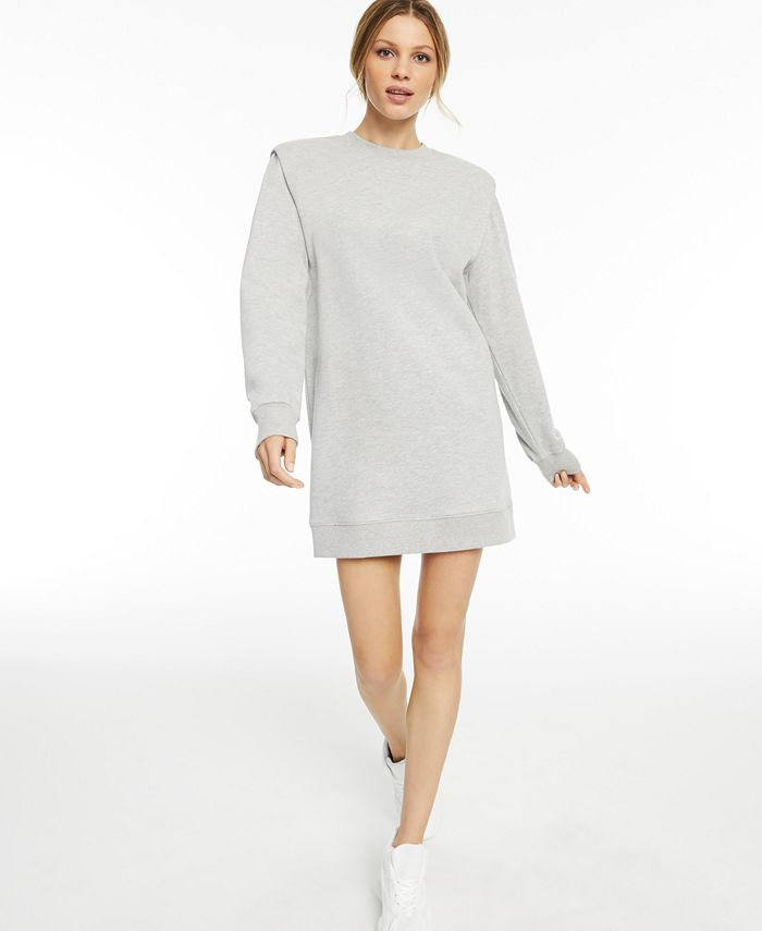 INC International Concepts - Long-Sleeve Knit Mini Dress