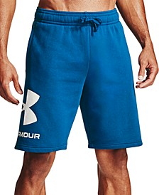 "Men's Rival Fleece Wordmark Logo 10"" Shorts"