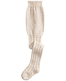 Baby Girls Cable-Knit Tights, Created for Macy's