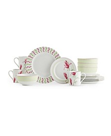 Home Magnolia Haze 16 Piece Set