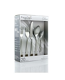 Gibbous Flatware Set of 20-Piece