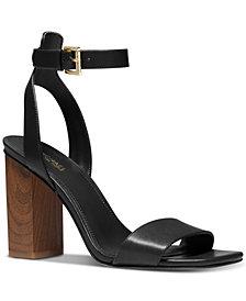 Michael Michael Kors Petra Ankle-Strap Sandals