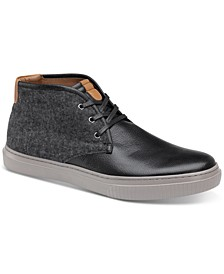 Men's Toliver Leather & Wool Chukka Sneakers