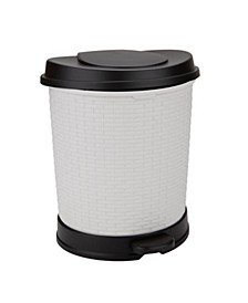 Flip Open Soft Close Removable Liner 21L Waste Bin