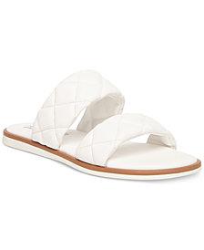 Steve Madden Women's Orsa Quilted Slide Sandals