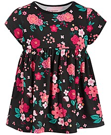 Baby Girls Holiday Rose Cotton Tunic, Created for Macy's
