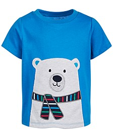 Baby Boys Polar Bear Cotton T-Shirt, Created for Macy's
