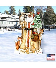 by Susan Winget Ivory Santa Outdoor, Wall and Lawn Decor