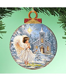 by Dona Gelsinger Angel at The Chapel Ornament, Set of 2