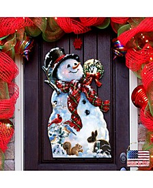 by Dona Gelsinger an Old-Fashioned Christmas Wall and Door Hanger