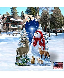 Heaven and Nature Snowman Frosty Friends Home and Outdoor Decor