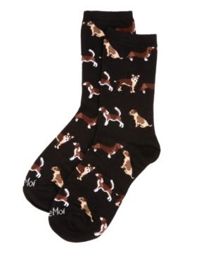 Dog Toss Women's Novelty Socks