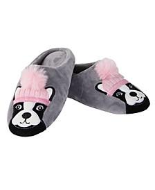 Dog Dame Women's Plush Slipper