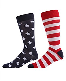 Stars and Stripes Women's Crew Socks
