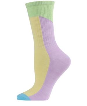 Pastel Patch Women's Crew Socks