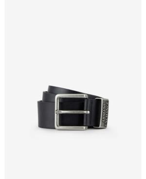 Ax Logo Leather Belt