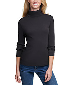 Tommy Hilfiger Cotton Turtleneck Top