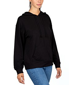 Juniors' Hooded Sweatshirt