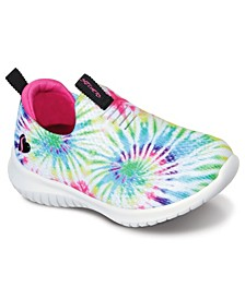 Big Girls Stretch Flex - Groovin Vibes Slip-on Sporty Casual Sneakers from Finish Line