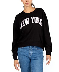 Juniors' New York Sweatshirt
