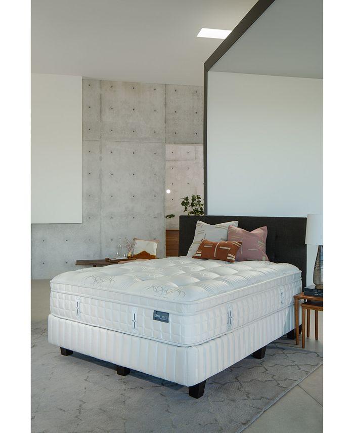 """King Koil - Marlow 14.5"""" Firm Euro Pillow Top Mattress- Full"""