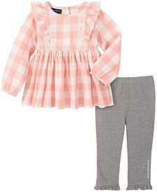 Baby Girls Plaid Tunic Legging Set