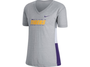 Nike Lsu Tigers Women's Breathe T-Shirt