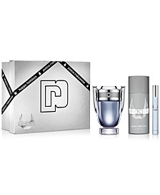 Men's 3-Pc. Invictus Eau de Toilette Gift Set