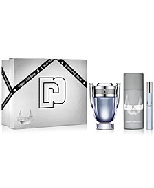 Paco Rabanne Men's 3-Pc. Invictus Eau de Toilette Gift Set