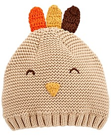Baby Boy or Girl  Thanksgiving Turkey Knit Cap