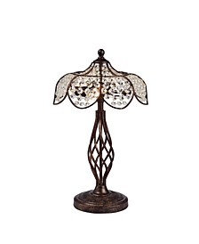 "Breska 14""Indoor Table Lamp with Light Kit"