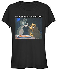 Women's Lady and the Tramp Meme Short Sleeve T-shirt