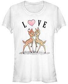 Women's Bambi Love Short Sleeve T-shirt
