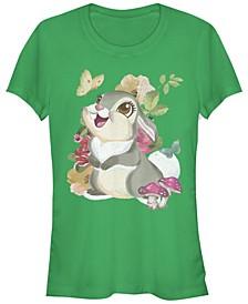 Women's Bambi Thumper Vintage-Like Short Sleeve T-shirt