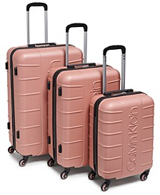Bowery 3-Pc. Hardside Luggage Set