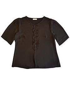 Short Sleeve Ruffle Top, Created for Macy's
