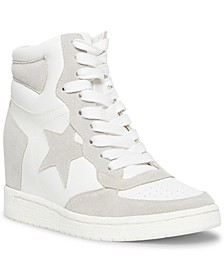 Slam High-Top Wedge Sneakers
