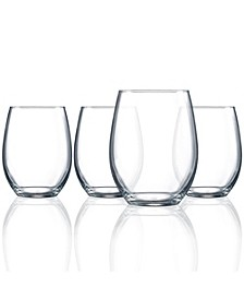Cachet 17oz Stemless Wine Set of 4