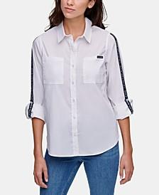 Logo-Tape Shirt