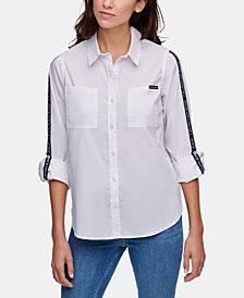 Calvin Klein Jeans Logo-Tape Shirt