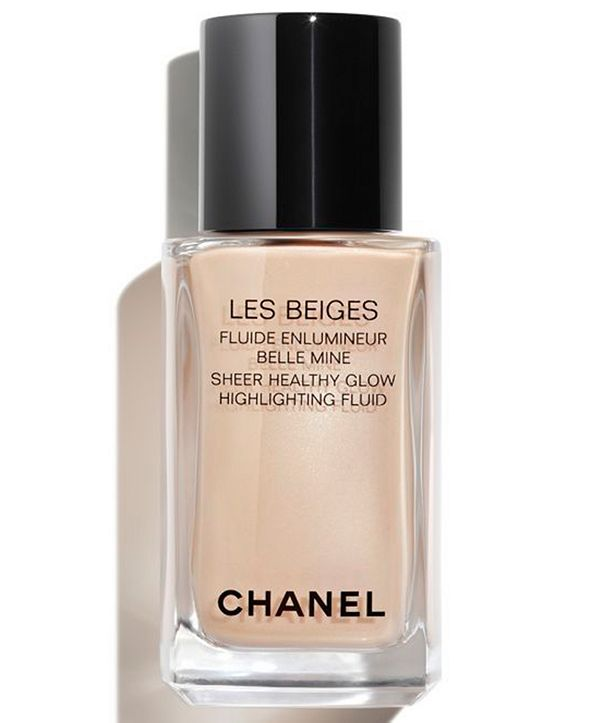 CHANEL  LES BEIGES Sheer Healthy Glow Highlighting Fluid, 1-oz.