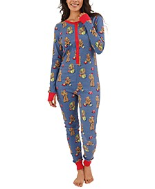 Women's Star Wars Chewbacca Unionsuit Pajamas