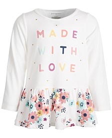 Baby Girls Love Floral Peplum, Created for Macy's