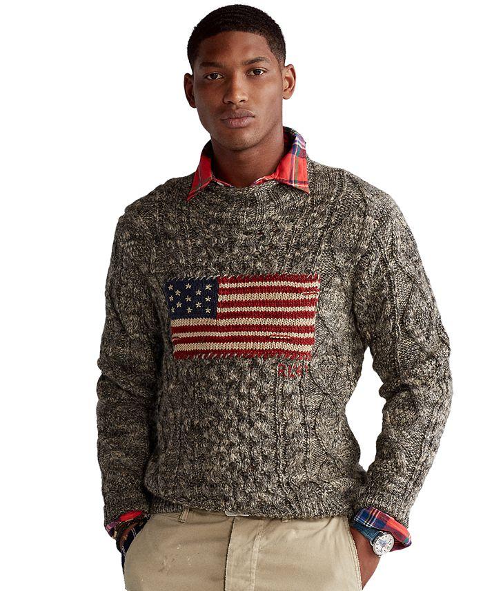 Polo Ralph Lauren - Men's Flag Aran Marled Sweater
