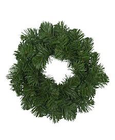 Unlit Deluxe Windsor Pine Artificial Christmas Wreath