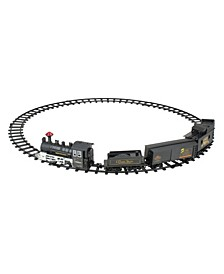 15-Piece Battery Operated Lighted and Animated Classic Train Set with Sound