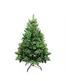 Ashcroft Cashmere Pine Artificial Christmas Tree- Unlit