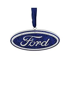 Oval Ford Logo Christmas Tree Ornament