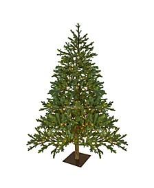 Pre-Lit Full North Pine Artificial Christmas Tree